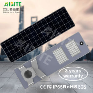 einteiliges 20With30With40With50With60With80With100With120W/integrierte im Freien LED-Solarstraßen-Garten-Licht mit Bewegungs-Fühler