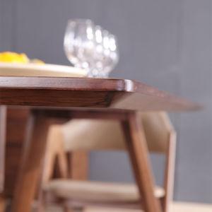 Casa de los países nórdicos los muebles modernos muebles de comedor mesa de madera para Restaurante