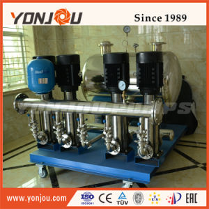 Suministro de agua de alta presión bomba establecida