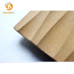 Los paneles de pared de madera de 3D para Salón