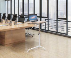 高さの調節可能なコンピュータの机のホームおよびオフィス用家具のために適した携帯用折るラップトップ表