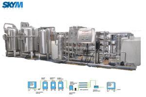Línea de llenado para el embotellado de agua mineral purificada