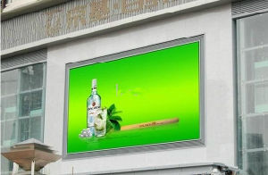 Écran couleur LED PITCH 8mm étanche extérieur LED de visualisation
