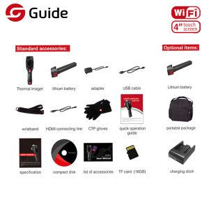 Hohe Auflösung-Handthermischer Infrarottoner, 384X288 IR Wärmebildgebung-Kamera