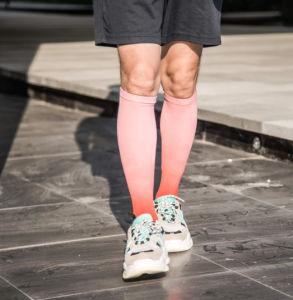 Commerce de gros Chaussettes Imprimé Coloré personnalisé impression en sublimation chaussettes