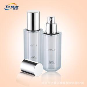 Professional Cosmetic garrafa de vidro com bomba de loção para fundações pacote de beleza