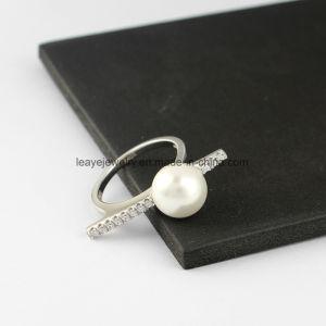 Цели и целевые Shell Pearl кольцо для дам простой серебряные украшения коллекции