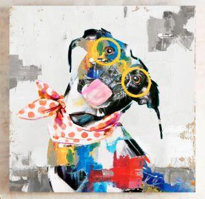 Cool Dog Wall Art Foto 100% a HP