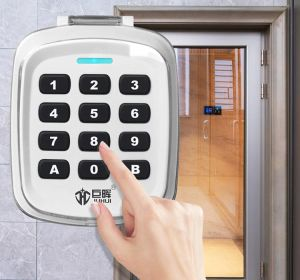 280-868MHz de la puerta de 4 canales de control remoto teclado