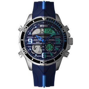 Ver reloj de pulsera con relojes reloj Relojes de marca de moda en Men's Watch antes de la moda de regalo reloj con alarma digital con Radio Watc automático