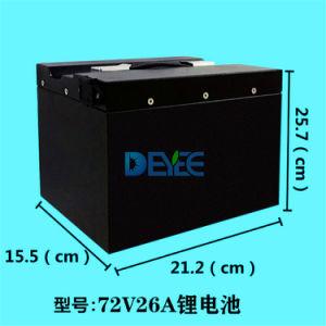 Горячий продавать 48V 60V 72V аккумуляторы ИБП/хранения данных / Car призматические LiFePO4 / Li-ion / Литий-полимерные и литий-ионный аккумулятор с сертификации 40AH