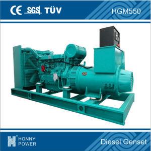 Région de l'Amérique 60Hz 480V 400kVA Groupe électrogène Diesel