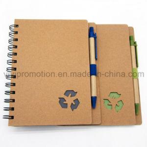 승진 (SNB125)를 위한 Eco 친절한 펜을%s 가진 주문 도매 나선 노트