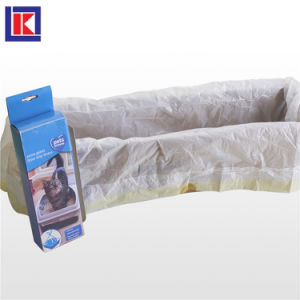 工場熱い販売のかわいいプラスチックパッキング犬の船尾袋