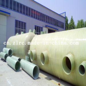 Prodotto chimico sotterraneo Sewagetank della vetroresina del serbatoio settico di FRP