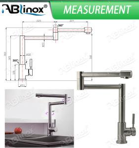 ステンレス鋼の折る台所コック(AB142)