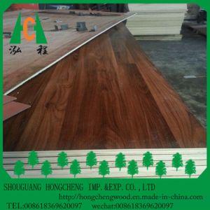 18mm Double Sided du grain du bois contreplaqué stratifié en mélamine de couleur