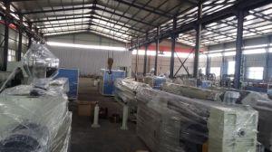 PE Bois Plastique Ligne de production avec ce profil certifié (SJ75/33)