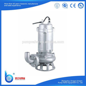 LivingのためのWqd/Wq Series Stainless Steel Slush Pump Waste Water Pump