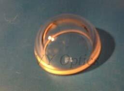 Diamter 60mm fixierte Quarzglas-Abdeckung mit Flansch