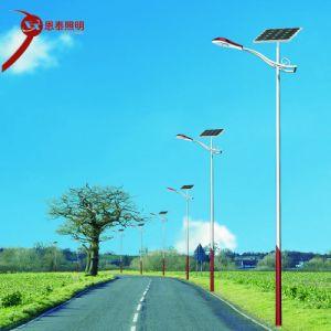 Haute efficacité énergétique extérieure de l'enregistrement LED étanche IP65 Rue lumière solaire avec panneau