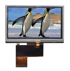 4.3インチLCDスクリーンの高品質のモジュール480*272は450CD/M2 TFTの表示に点を打つ