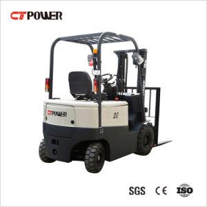 1.5/1.8/2.0/2.5/3.0/3.5 toneladas de la carretilla elevadora eléctrica de 4 ruedas con la norma ISO/certificado CE