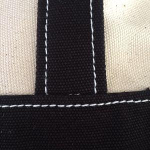Handgefertigte langlebige Online-Verkauf 100% Baumwolle Tote Einkaufstasche