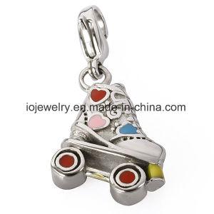 316 Charme van het Hart van de Liefde van de Juwelen van het roestvrij staal de Grote Dwars