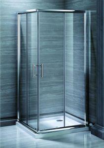 Receptáculo de ducha de rango medio baño entrada de la esquina de 6mm (MR-CE90)