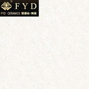 フォーシャン600*600の水晶白い磨かれた磁器のタイルFj6001