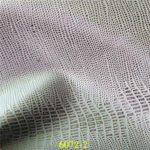 Мода тиснения искусственного PU башмак из натуральной кожи для обуви аксессуары