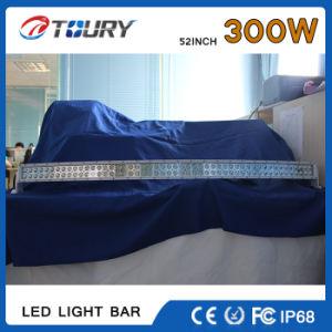 300W Barra de luz LED Spot Lâmpada farol do carro elevador barco Offroad 24V