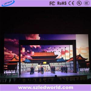 Visor LED fixo de placa de publicidade P6 interiores para desempenho de estágio