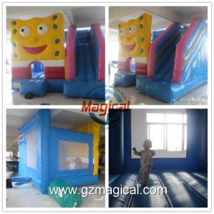 Los niños diversión Bouncer Diapositiva inflable combinado de la casa de rebote (MIG-829)