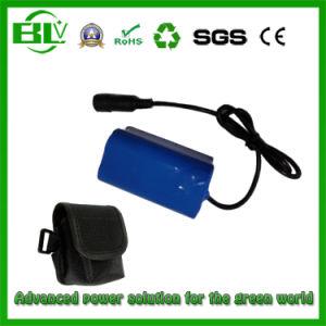 Размера 18650 Li-ion батарейный блок 4.4ah 7,4 В велосипеде светодиодный индикатор головки блока цилиндров