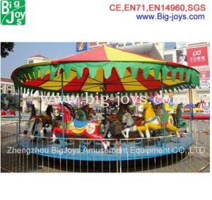 Carrossel de 16 lugares de estacionamento ao ar livre, Merry Go Round