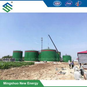 20000 M³ Biomethaneの生成および不用な処置のための嫌気性リアクター