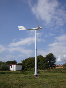 Niedriges Nosie Windmill Turbine Generator für Farm Use