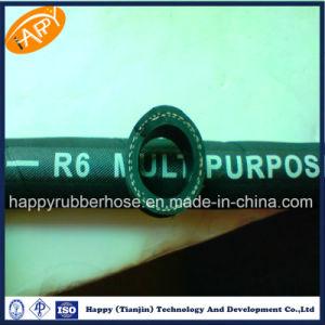 SAE100 R6/einzelne Hochdruckfaser-umsponnener hydraulischer Schlauch