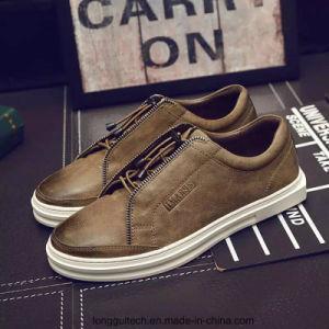 Nuevo diseño de cuero zapatos de hombre