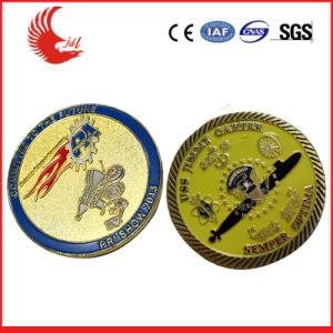 別のめっき(008)の2018の昇進のギフトの金属の第2フットボールの記念する挑戦硬貨