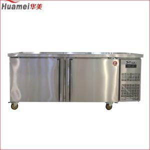 Cocina de alta calidad contador refrigerados de uso