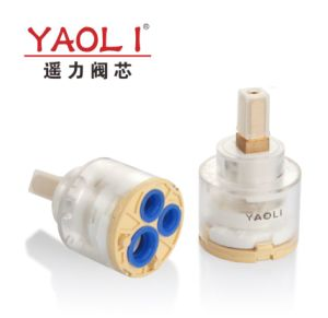 40mmディストリビューター(YLD40-07)のない陶磁器弁のカートリッジ