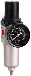 Aw2000-02 vermindert de Regelgever van de Filter van de Lucht van het Metaal, de Regelgever van de Filter van de Druk, Druk Klep met Filter, Van de Bron lucht Behandelingen, Pneumatische Componenten