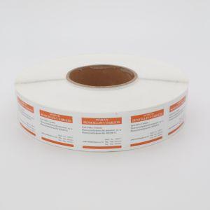 Самоклеющиеся этикетки в рулон