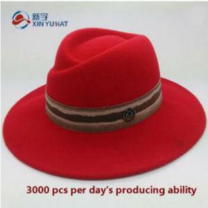 Cappello del Homburg del feltro delle lane di 100% della ragazza a41292cc596d