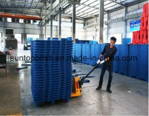 リサイクルされた青いTransportionプラスチックパレットロジスティクス
