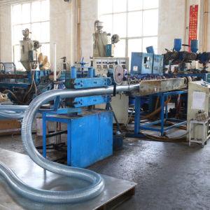 High-Tensile産業プラスチックPVCばねの鋼線の補強された管のホース