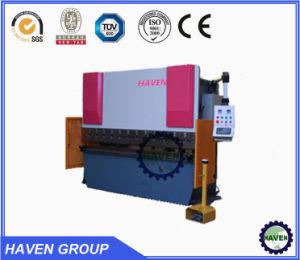 Bremse der hydraulischen Presse-Wc67y-40X2000, Stahlplatten-verbiegende Maschine, hydraulische faltende Maschine